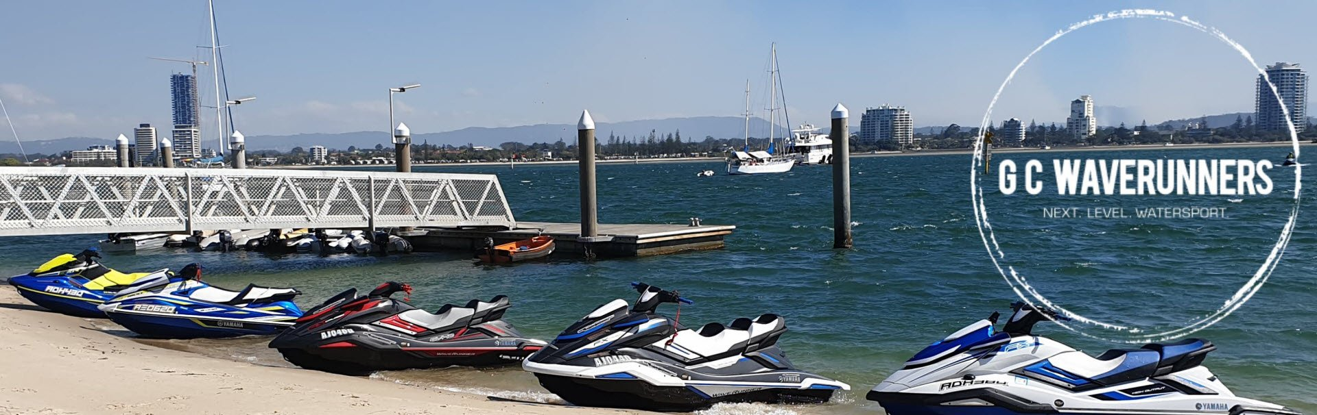 Gold Coast Waverunners 07 5529 1855 No.1 Yamaha Waverunner Dealer.