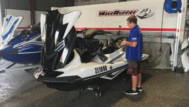 Waverunner Servicing, No Hassle, Fixed Price, highly trained Techs.