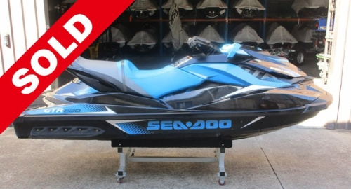 Used-2017-Sea-Doo-GTR-230 SOLD