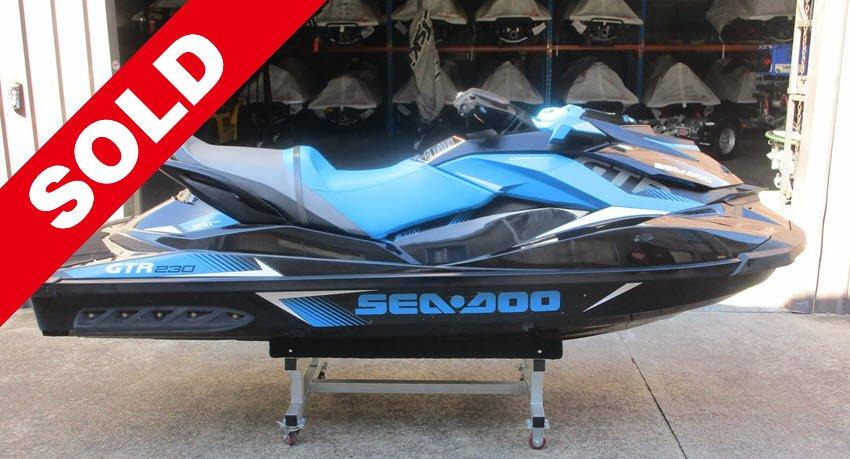 Used-2017-Sea-Doo-GTR-230 SOLD