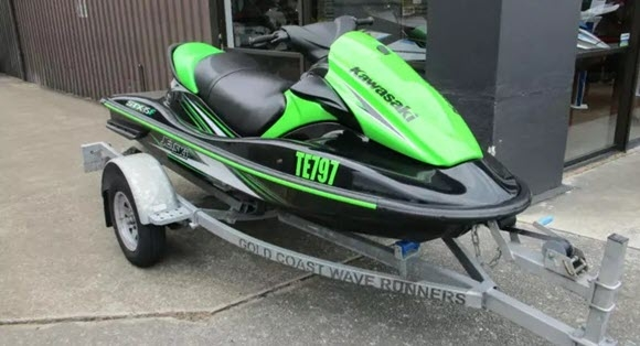 Used 2016 Kawasaki STX - 15F 01