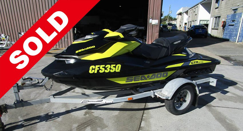 Used 2016 Sea-Doo GTR 215 Sold