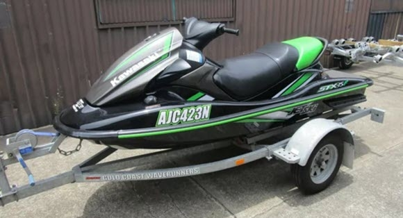 Used 2017 Kawasaki STX-15F 03